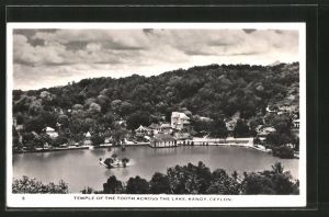 AK Kandy, Temple of the Tooth across the Lake