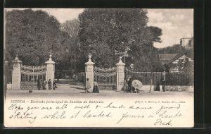 AK Lisboa, Entrada principal do Jardim da Estrells
