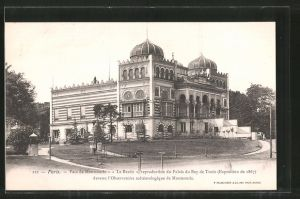 AK Paris, Parc de Montsouris, Le Bardo devenu l' Observatoire météreologique