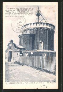 AK L'Observatoire de la Puy-de-Dome, Observatorium