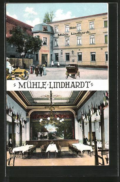 AK Mühle Lindhardt, Hotel und Restaurant Mühle Lindhardt, Saal