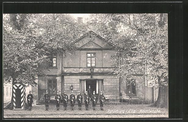 AK Ratzeburg, Hauptwache in der Herrenstrasse