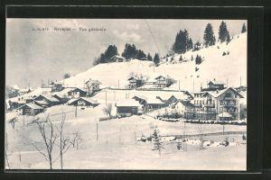 AK Arveyes, Vue générale en hiver