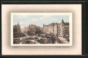 AK Berlin-Schöneberg, Geschäfte am Viktoria Luise-Platz