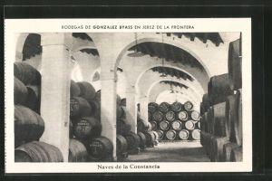 AK Jerez de la Frontera, Bodegas de Gonzalez Byass, Naves de la Constancia, Weinkeller