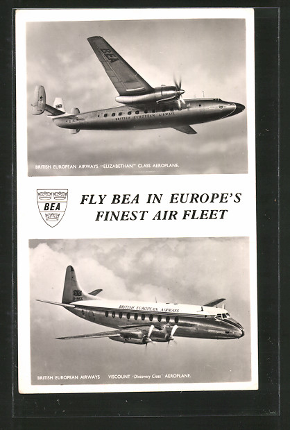 AK Flugzeug, British European Airways,