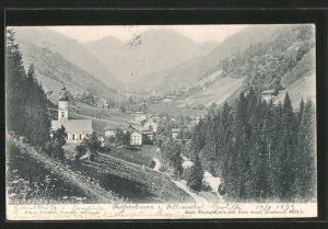 AK Rothenbrunn, Blick zum Ort