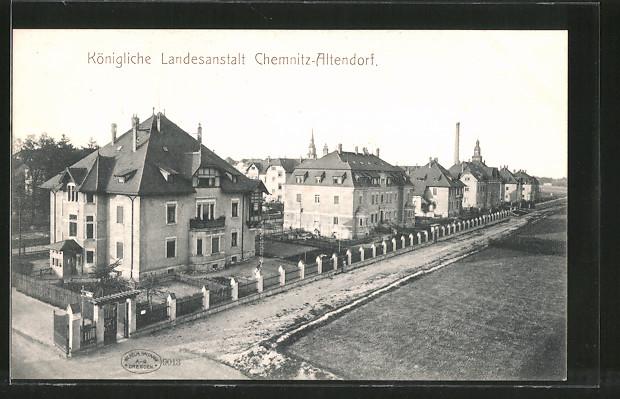 AK Chemnitz-Altendorf, Königliche Landesanstalt