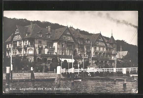 AK Kiel, Logierhaus des Kais, Yachtklubs