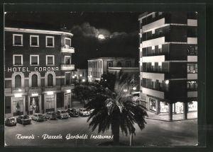 AK Termoli, Piazzale Garibaldi, Hotel Corona