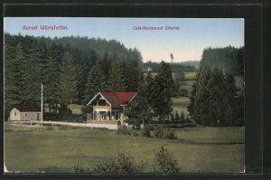 AK Bad Wörishofen, Cafe-Restaurant Zillertal