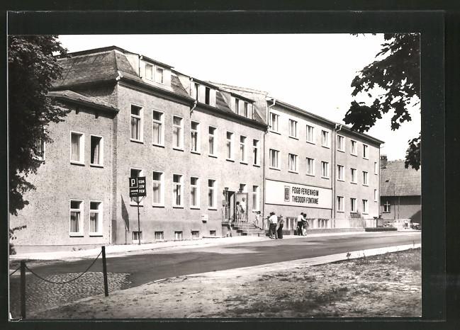 AK Buckow, FDGB-Erholungsheim Theodor Fontane, Haus I
