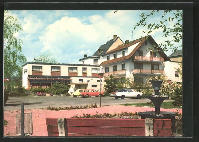 AK Oberzeuzheim, Hotel Pension Restaurant Cafe Lochmühle
