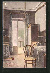 AK Torino, Grand Hotel Ala di Stura, Camera da letto, Innenansicht