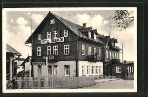 AK Harrachsdorf, Hotel Erlebach