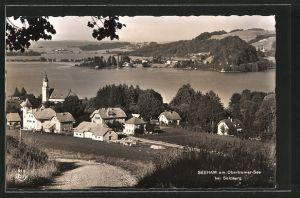 AK Seeham am Obertrumer-See, Ortsansicht