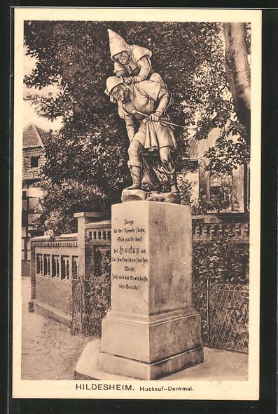 AK Hildesheim, Huckauf-Denkmal