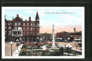 AK Anderson, SC, The Plaza, Court Square