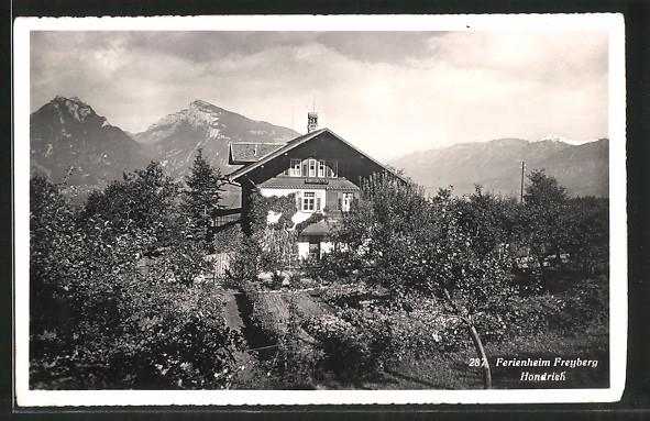 AK Hondrich, Pension Ferienheim Freyberg