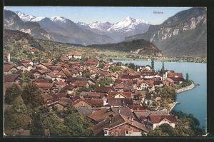 AK Brienz, Blick über die Dächer der Ortschaft