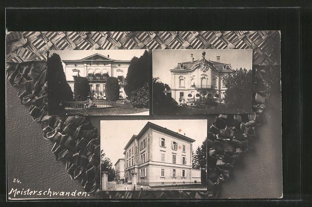AK Meisterschwanden, Villa, Gebäudeansicht