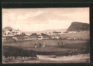 AK Teignmouth, Bowling Green, Boules-Spieler