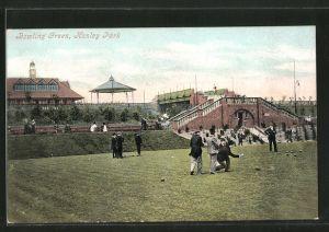 AK Stoke-on-Trent, Hanley Park, Bowling Green, Boules-Spieler