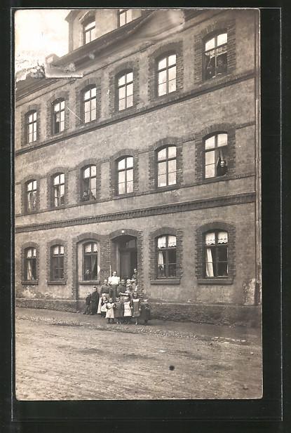 Foto-AK Zwickau, Wohnhaus Pöhlauer Strasse 23 später 27