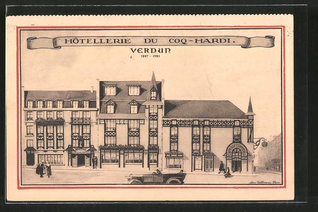 AK Verdun, Hotellerie du Coq-Hardi
