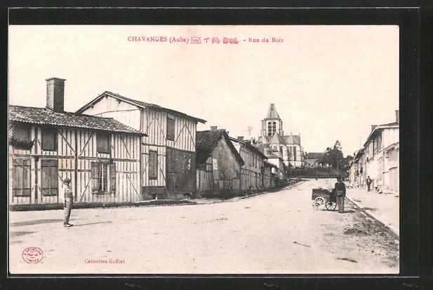 AK Chavanges, Rue de Bois