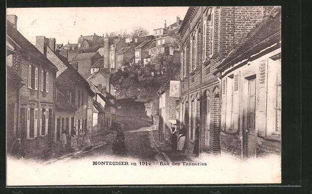 AK Montdidier, Rue des Tanneries
