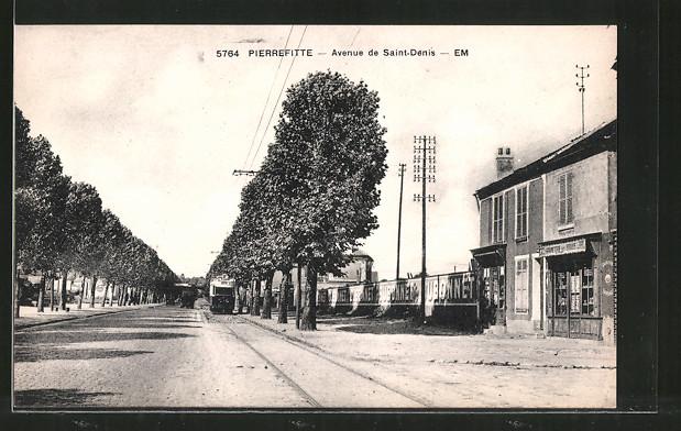 AK Pierrefitte, Avenue de Saint-Dénis