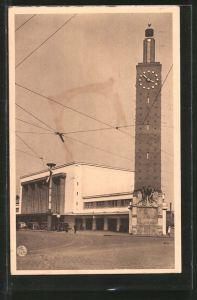 AK Le Havre, La Gare - Bahnhof