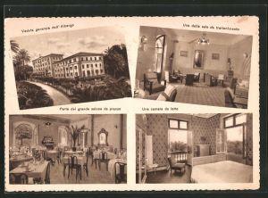 AK Bagni di Chianciano, Grande Albergo Le Palme, Una delle sala da trattenimento, Una camera da letto
