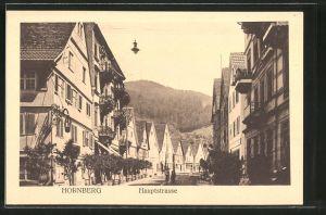 AK Hornberg, Blick in die Hauptstrasse