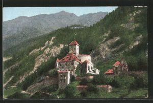 AK Freienfeld, Blick zum Schloss Welfenstein
