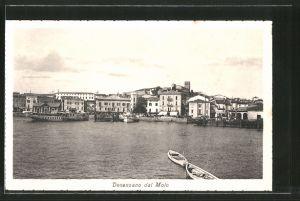 AK Desenzano, Veduta dal Molo, Dampfer