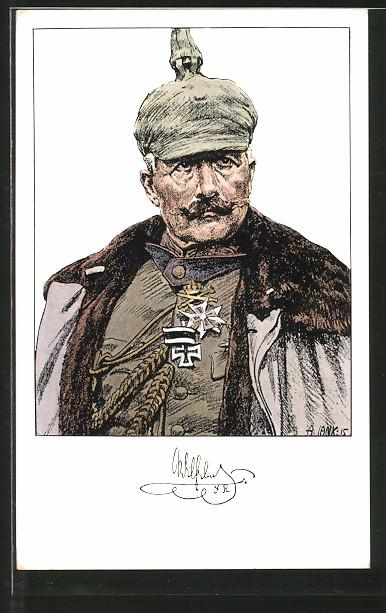 Künstler-AK Angelo Jank: Kaiser Wilhelm II.