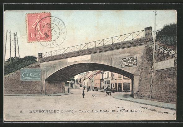 AK Rambouillet, Le pont de Biais dit Pont Hardi