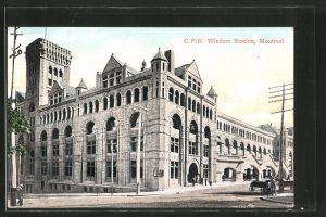 AK Montreal, CPR Windsor Station, Bahnhof