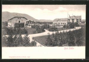 AK Bad Ilidze, Hotel Hungaria & Hotel Austria mit Parkanlage