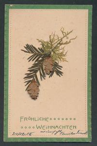 Trockenblumen-AK