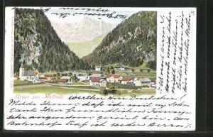 AK Mallnitz, Blick auf den Ort