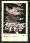 AK Mallnitz, Ortsansicht mit Blick gegen das Tauerntal und die Geiselspitze im Winter