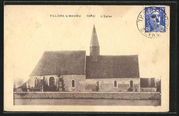 AK Villiers-le-Mahieu, L'Eglise