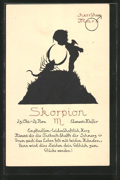 sternzeichen eigenschaften skorpion