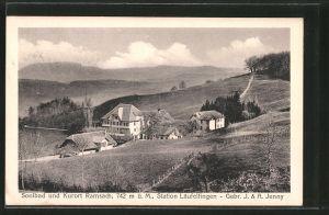 AK Ramsach, Blick auf den Kurort