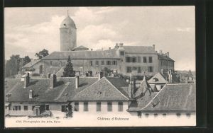 AK Aubonne, Chateau, Blick zum Schloss