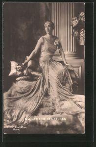 AK La Reine des Belges, Die Königin von Belgien