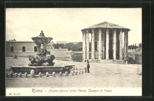 AK Roma, Piazza Bocca della Verità, Tempio di Vesta